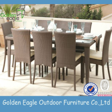 Muebles de exterior sillas de mesa de aluminio fundido