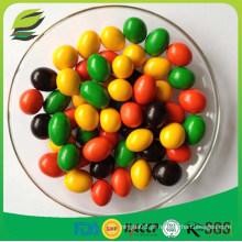 Amendoim revestido de chocolate doce