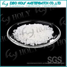 Agua absorbente CaCO3 relleno Master Batch