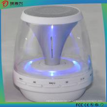 Alto-falante mini bluetooth portátil de alta qualidade com luz LED