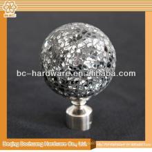 Cortina de cristal transparente de qualidade superior Finial