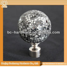 Верхнее качество Clear Crystal Curtain Finial