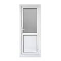 Plastic Casement Window Profile For PVC Bathroom Door