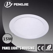 Hot Selling 15W LED Panel Light Housing for Indoor (Round)