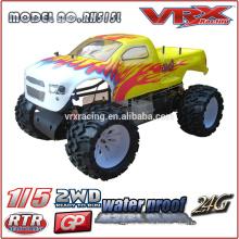 1/5 escala 2WD modelo RC carros, marca VRX, monstro caminhão feito em China