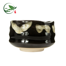 Cuenco de cerámica japonés hecho a mano del té / cuenco de Matcha / cuenco de Ceram