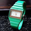 Venta al por mayor Candy Bangle Watch Bracelet for Ladies Women