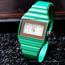 Gros bracelet de montre bracelet bonbons pour dames femmes