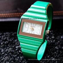 Оптовая конфеты Браслет часы для дамы женщины