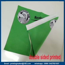 250G Polyester Fabric Flags med dubbelsidig tryckt