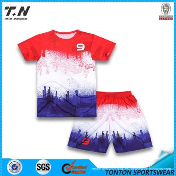 2015 nuevo fútbol de encargo Jersey / uniforme del fútbol