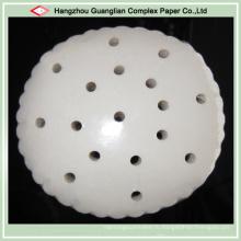 Пищевой антипригарным силиконовые Пропаривание бумаги с отверстиями