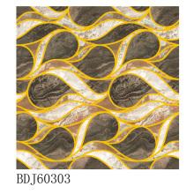 Manufaktur von polierten goldenen Teppichfliesen in Guangxi (BDJ60303)