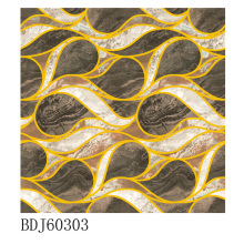 Manufactory of Polished Golden Carpet Tiles em Guangxi (BDJ60303)