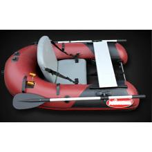Barco de pesca inflável individual com novo design 2014