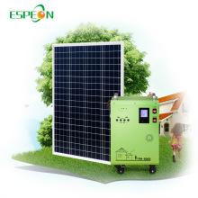 Application à la maison 300W 400W 600W 1000W 1500W Portable Solar Panel System Générateur d'énergie solaire