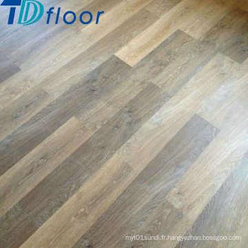 Plancher sec de vinyle de plancher en vinyle commercial de vinyle de plancher en bois
