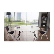 orizeal table de conférence pliable de forme ovale moderne