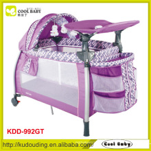 Hot sale europe standard baby playpen baby crib