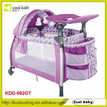Berço do berço do playpen do bebê padrão europeu da venda