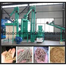 0,8-1 Ton / Stunde Biomasse Holz Pellet Linie Pflanze