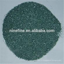 Dessus de verre vert Carbure de silicium / Carborundum