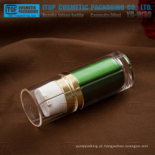 Cilindro de 30ml (15 ml x 2) YB-W30 redondo de boa qualidade para a garrafa de plástico grosso acrílico dupla câmara dia/noite loção