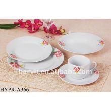 Ensembles de dîner de conception royale 20pcs / sets de dîner colorés / set de dîner en porcelaine