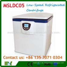 MSLDC05 Vertikale Typ Low-Speed Kältezentrifuge / Boden Kältezentrifuge Maschine
