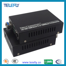 LC 10/100/1000m Fiber Optic Transceiver