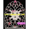 hair jewelry accessories princess hair piece custom cheap crowns