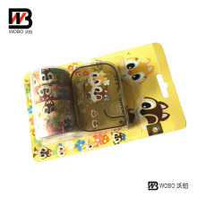 Plastic Holder with Adhesive Tape for Office Stationery and School
