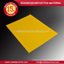 Réfléchissant de bâches pour le badge sécurité routière spécialisée acrylique