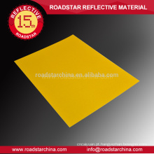 Reflexiva de cobertura para crachá de segurança da estrada especializado acrílico
