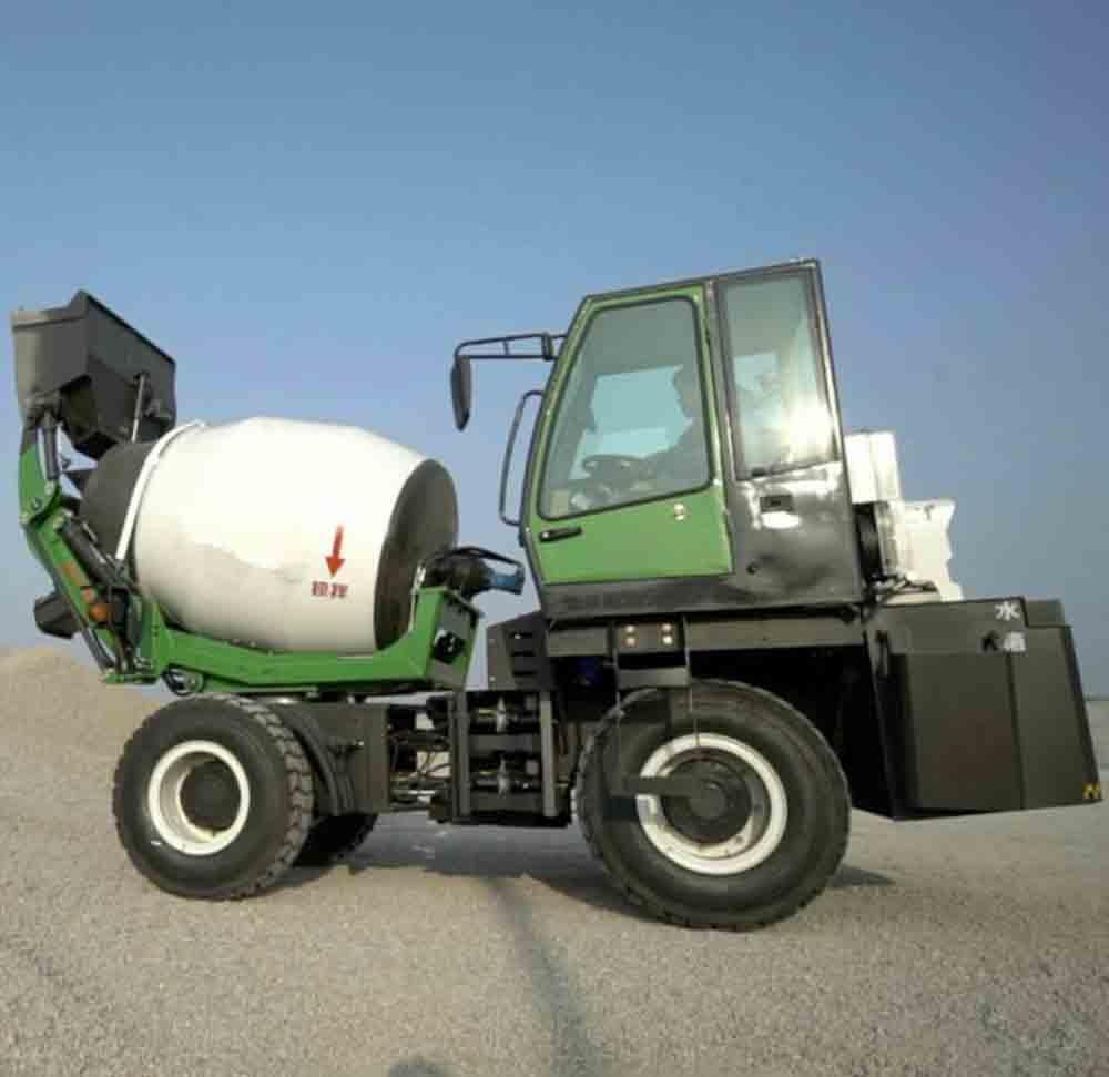 price of concrete mixer truck