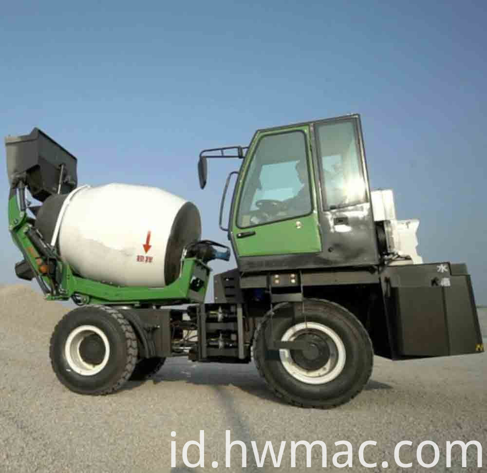 price of concrete mixer truck