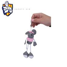 3d pvc keychains,3D PVC Reflective keychain EN13356