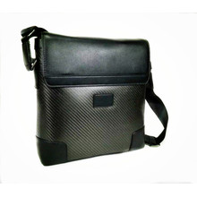 Carbon fiber shoulder bag