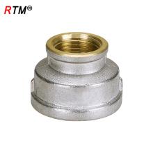 B17 4 12 brass reducing nipple brass socket