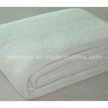 Одеяло хлопок 100% мягких органических вафельные