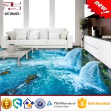 piso 3d para impresión digital cuadro 3d pared de baño y piso