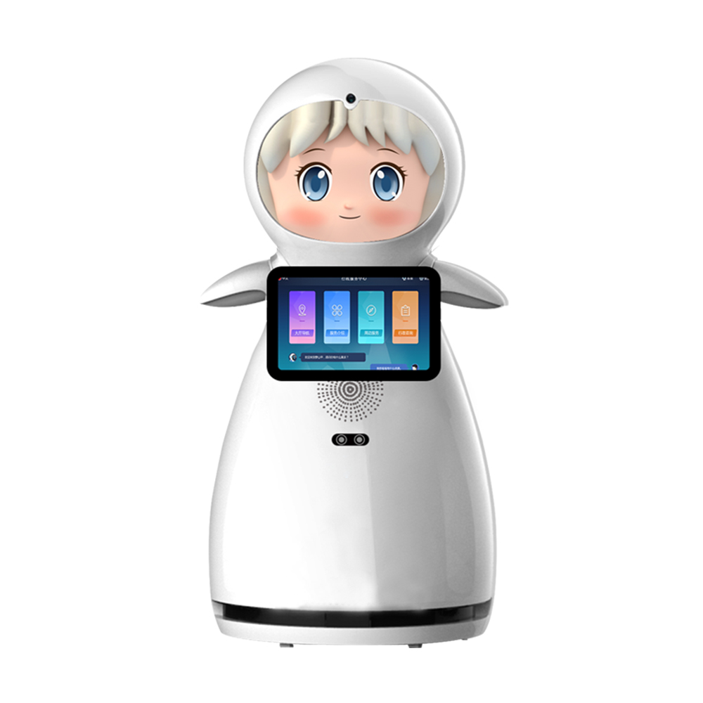 Eva welcome robot
