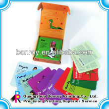 Printing Kinder Lernkarten Flash-Karten
