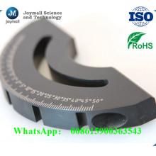 Schwarzer Teil Aluminium-Druckguss-Teil mit Oberflächenbehandlung