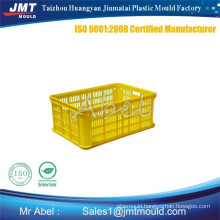 Hydraulic cylinder plastic vegetable crate mould