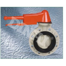 """Abs Lever Handle 1""""(d32mm) ~ 6""""(d160mm) Pph Electric Butterfly Water Valve For Agricultur"""