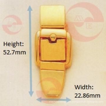 Forma de hebilla de cinturón de metal de aleación de zinc Push Lock
