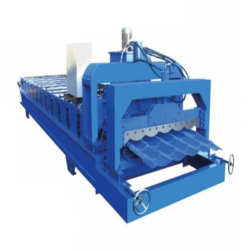 Baumaterial-Stahlblech-Rolle, die Maschine bildet