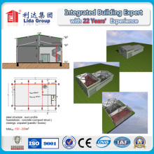 Construção de aço do projeto da construção construção de aço da construção de aço