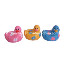 Duck Saving Money Box, Poly Resin Duck Shape Coin Bank